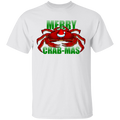Merry Crab-Mas Saltwater Christmas T-Shirt