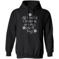 All I need is Christmas and dogs. Lots of Dogs. Christmas Pullover Hoodie