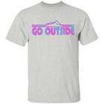 Go Outside Camping Nature T-Shirt