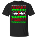 Merry Fishmas Funny Saltwater Ugly Christmas T-Shirt