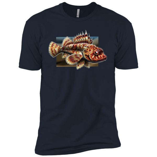 Boys' Sculpin Saltwater Fish Cotton T-Shirt