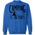 Camping is In-Tents Funny Crewneck Sweatshirt