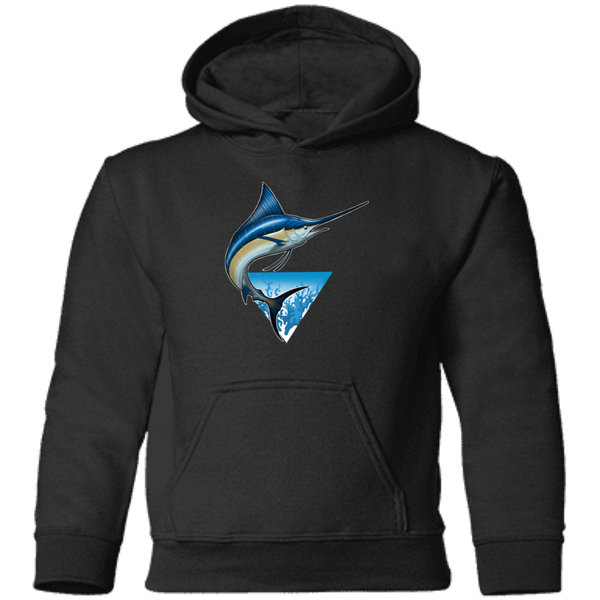 Toddler Atlantic Blue Marlin Saltwater Fish Pullover Hoodie