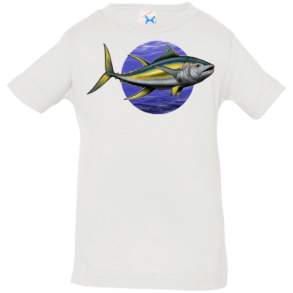 Infant Yellowfin Tuna Saltwater Fish Jersey T-Shirt