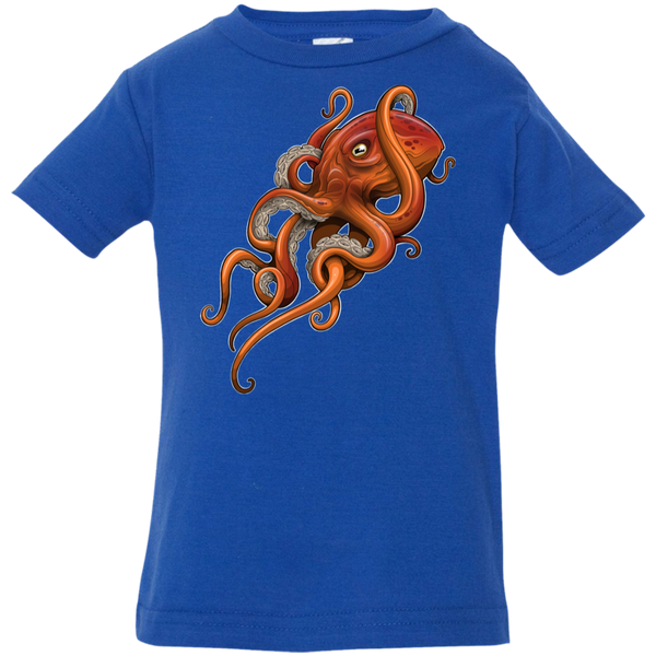 Infant Octopus Saltwater Jersey T-Shirt