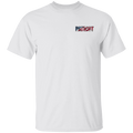 Patriot American Bald Eagle Double Sided T-Shirt