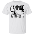 Camping is In-Tents Funny T-Shirt