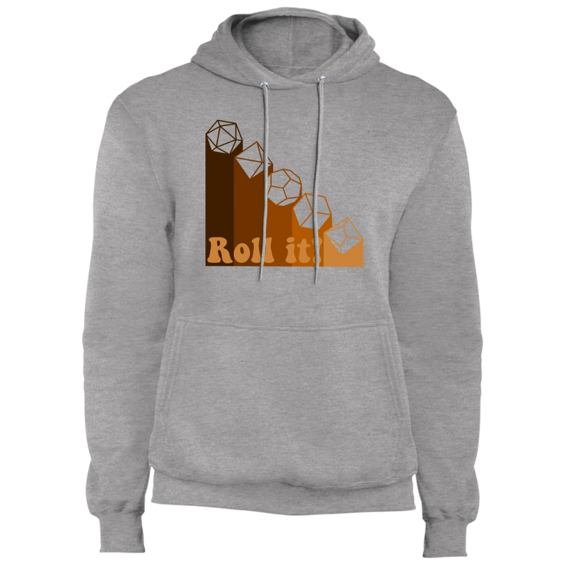 Roll it! Dice Fleece Pullover Hoodie