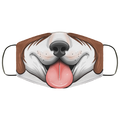 Dog Panting Canine Face Mask