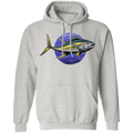 Yellowfin Tuna Saltwater Fish Ocean Pullover Hoodie