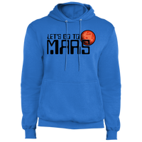 Men's Space Lets Go to Mars Fleece Pullover Hoodie