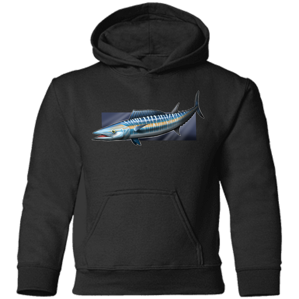 Toddler Wahoo Ono Saltwater Fish Pullover Hoodie