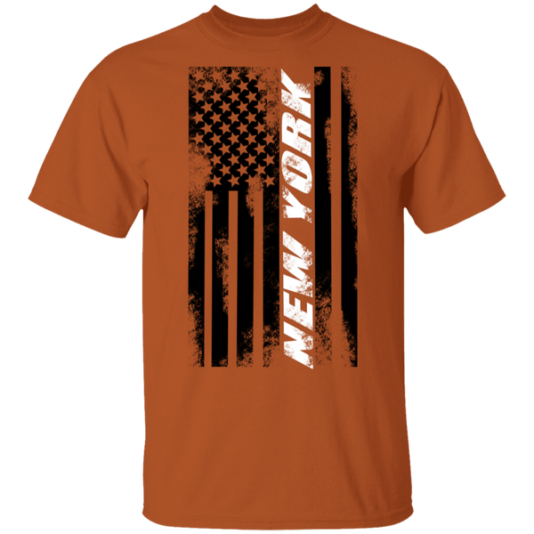 New York NY American Flag T-Shirt