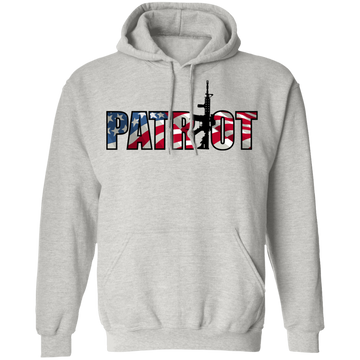 Patriot American Flag Defense Pullover Hoodie