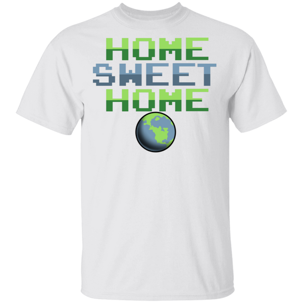Men's Space Planet Earth Home Sweet T-Shirt