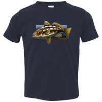 Toddler Calico Bass Kelp Bass Saltwater Jersey T-Shirt