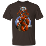 Octopus and Diamond Treasure Saltwater Shipwreck T-Shirt