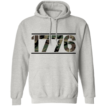 1776 American Camouflage Pullover Hoodie