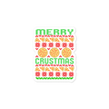 Merry Crustmas Christmas Funny Sticker