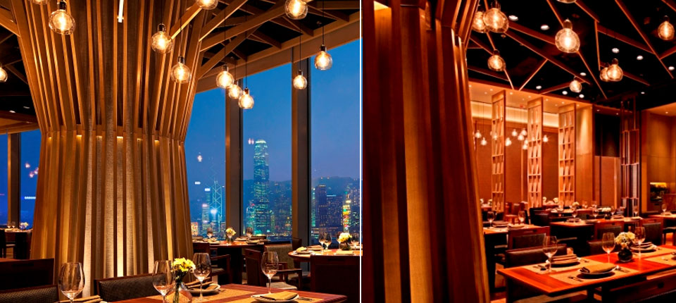 Mango Tree Restaurant Kowloon, Hong Kong. Pendant Lighting