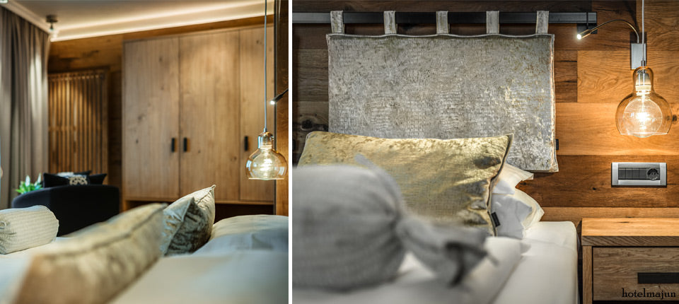 Hotel Majun  Dolomites Italy Glass Pendant Lights