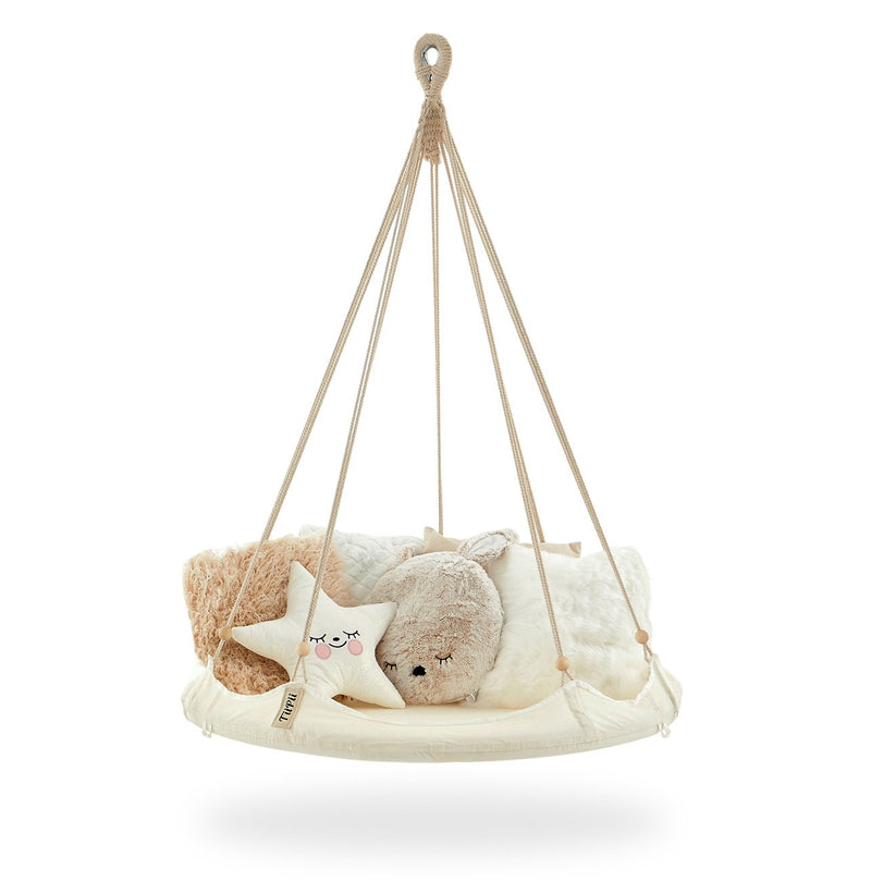 Kids 'Bambino' TiiPii Bed (Small) with cushion and blankets