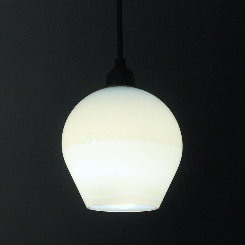Beautiful quality glass pendant, Opal White, contemporary lighting, bathroom lighting, indoor-outdoor lights,