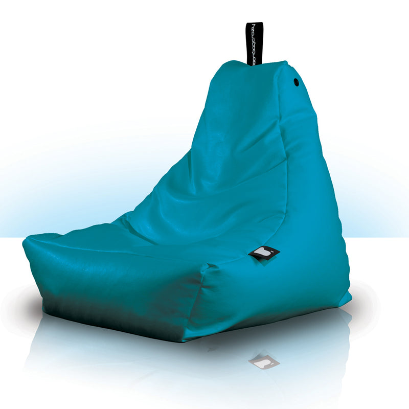 Extreme Lounging Kids Mini Bean Bag Chair Turquoise