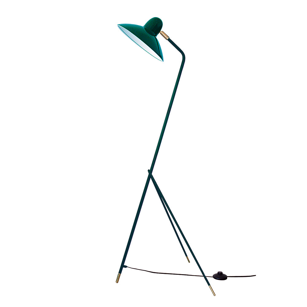 DI CLASSE Arles Floor Lamp Racing Green
