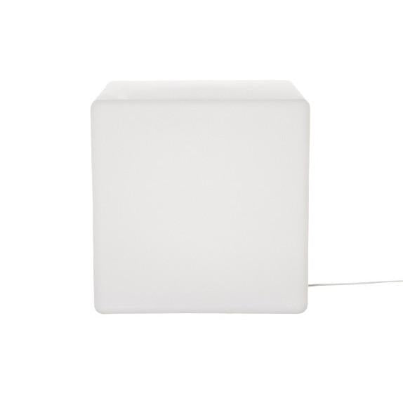 light, square floor light, cube light, contemporary design, side table