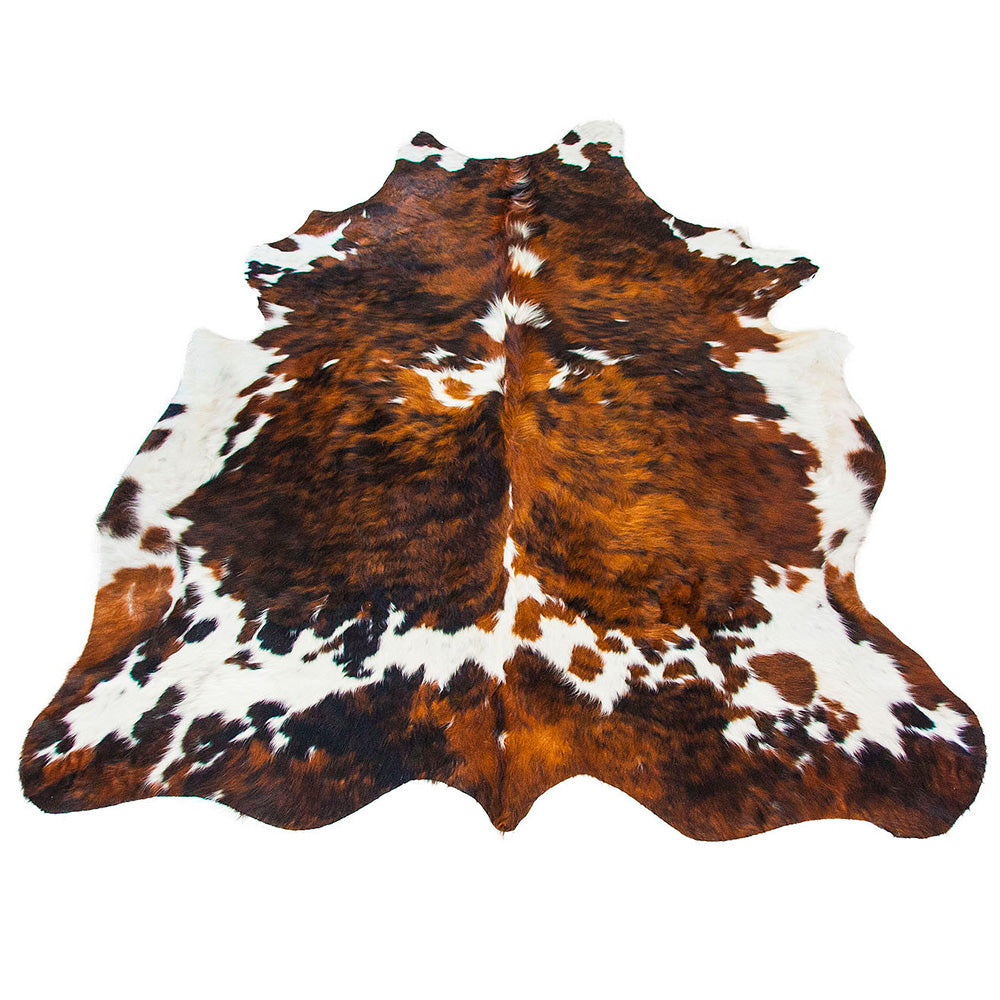 Cowhide Rug Tri-colour