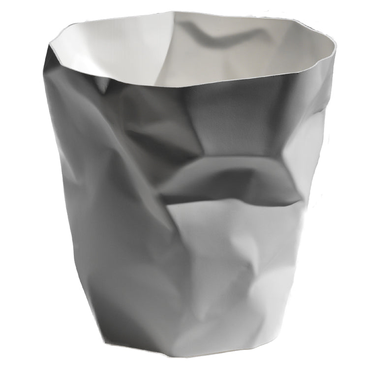 Essey Crumpled Bin White
