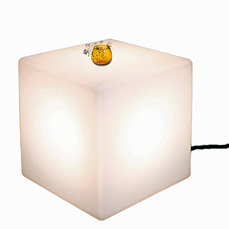 One Foot Taller Cube Lit Table Outdoor