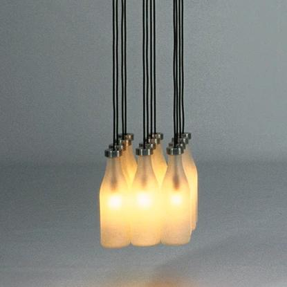 Droog Milk Bottle Lamp - 12 peices
