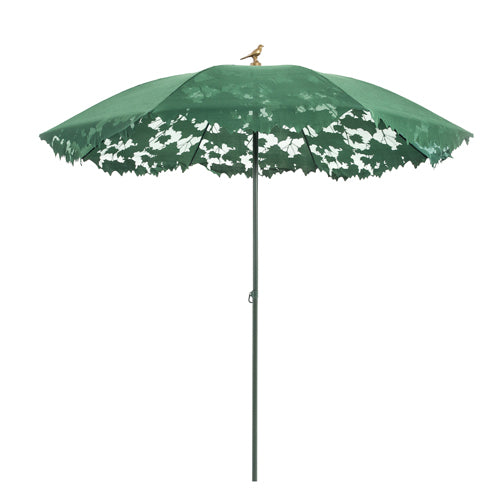 Droog Shadylace Parasol Outdoor Umbrella Green