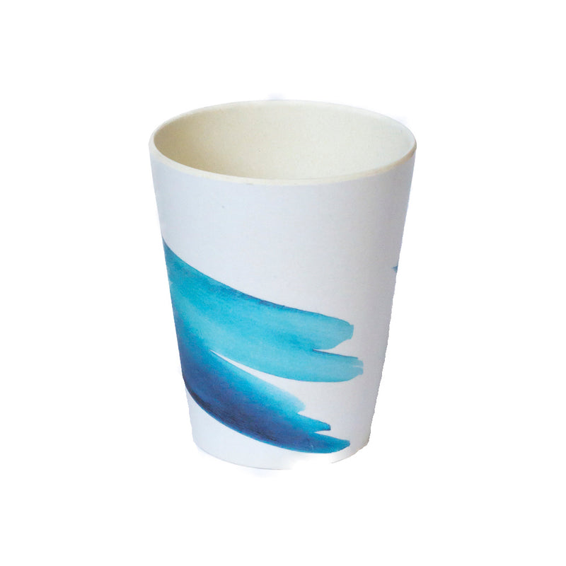 Emilie O'Connor Blue Wave  Bamboo Cup