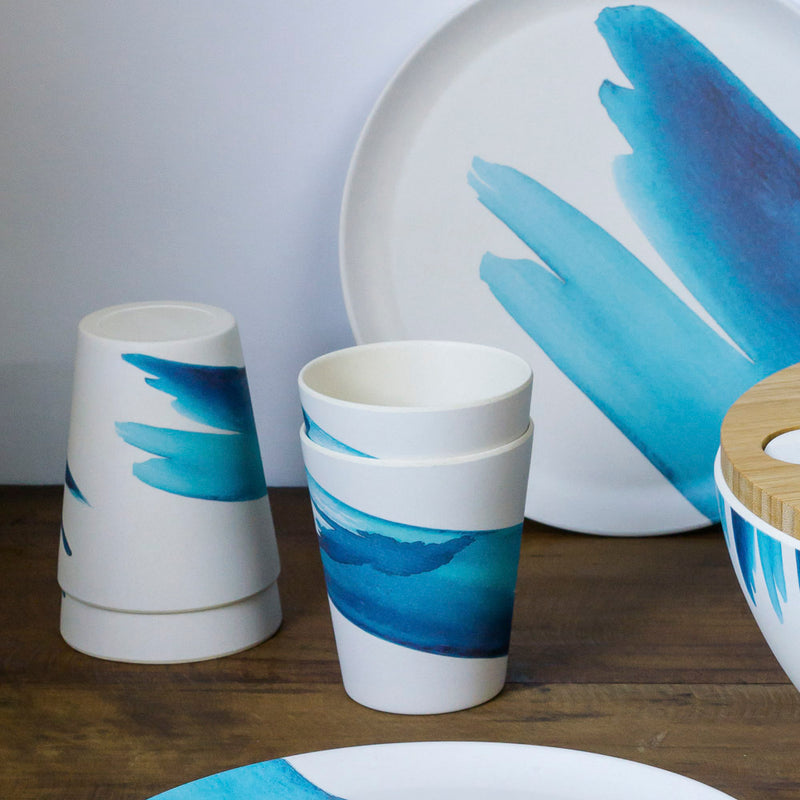 Emilie O'Connor Bue Wave Bamboo Cup