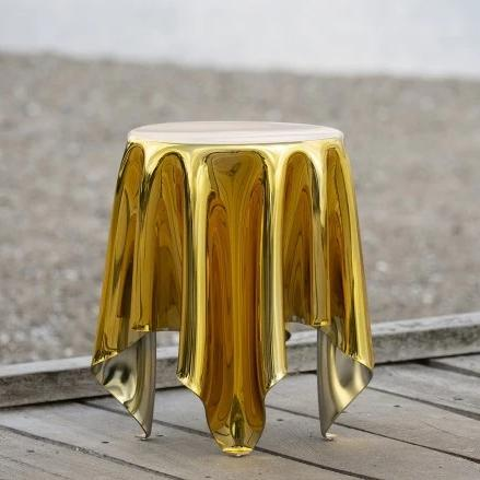 Essey Illusion table Gold and Silver
