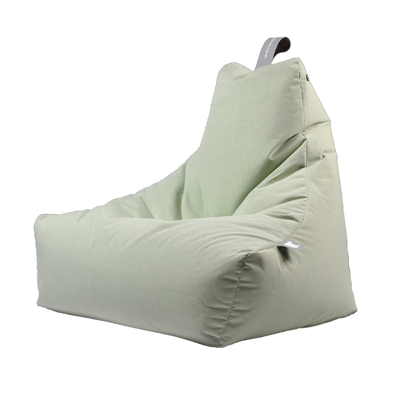 Extreme Lounging Mighty-b Bean bag Chair Pastel Range Green