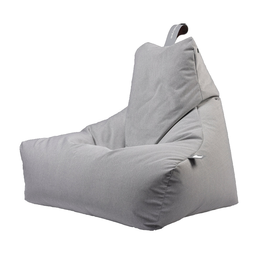 Extreme Lounging Mighty-b Bean bag Chair Pastel Range Grey