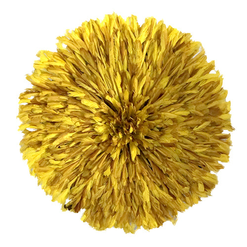 Flecked Yellow Juju Hat