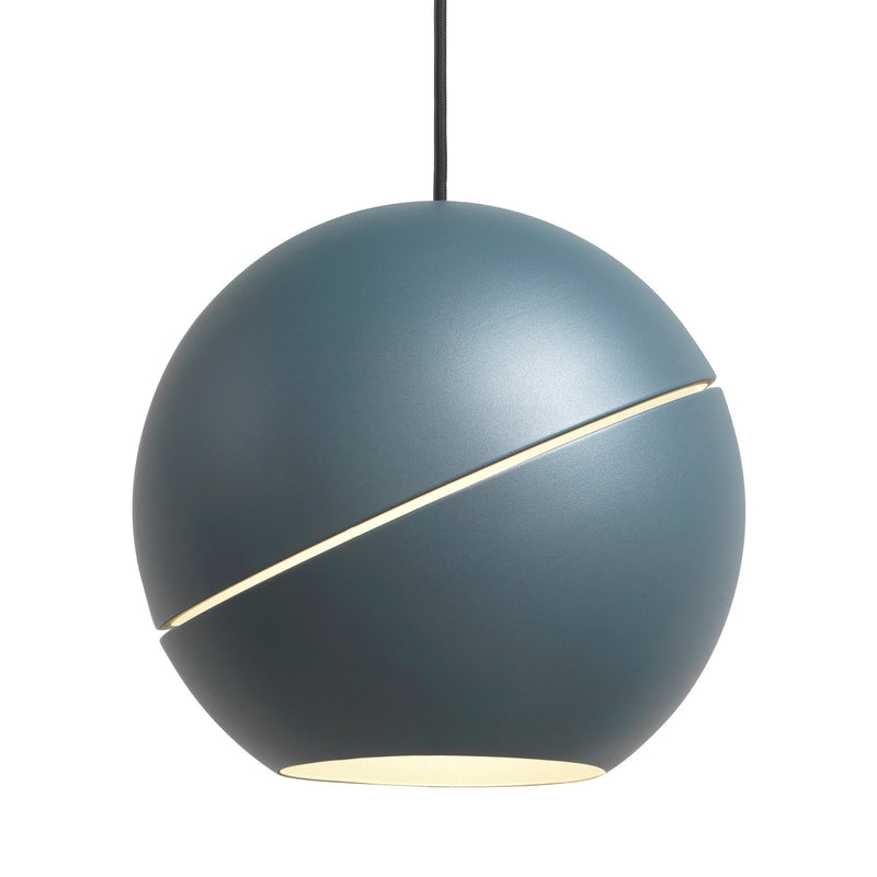 Frederik Roije Sliced Sphere Pendant Light Blue