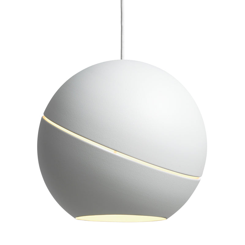 Frederik Roije Sliced Sphere Pendant Light White