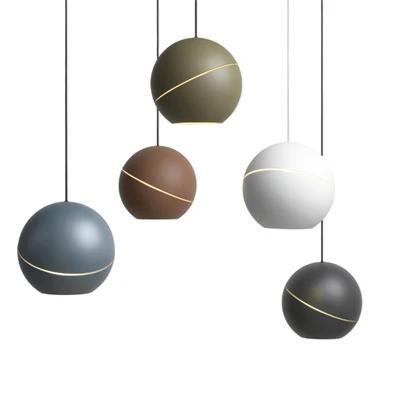 Frederik Roije Sliced Sphere Pendant Light