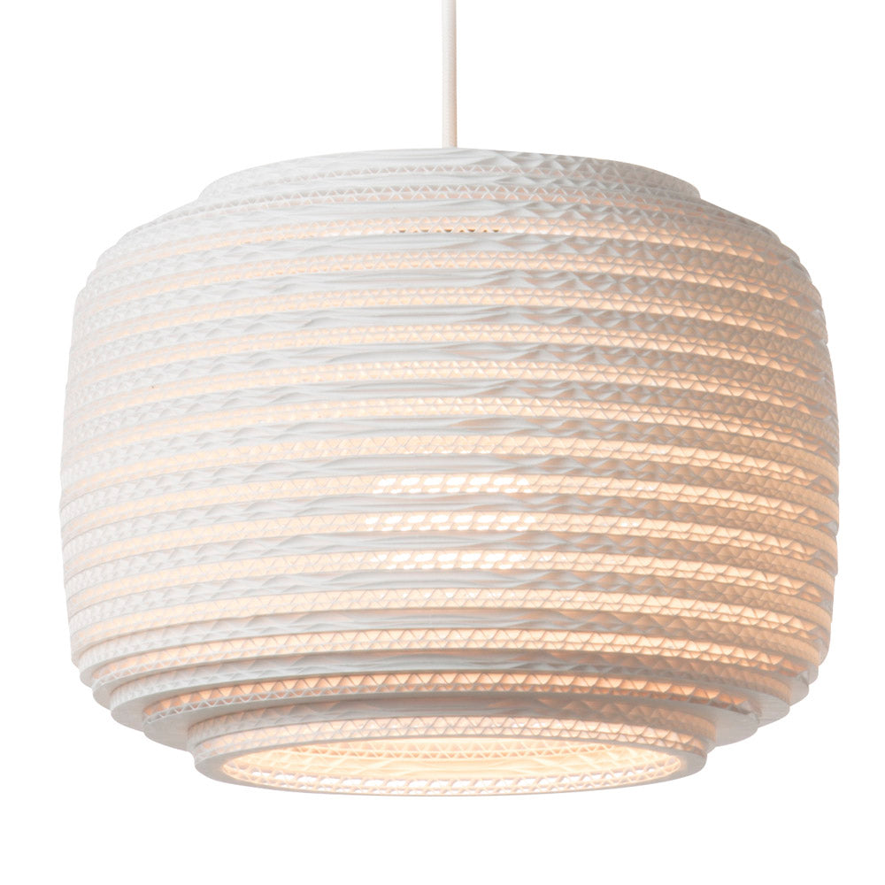 Graypants Scraplights Ausi12 Pendant White