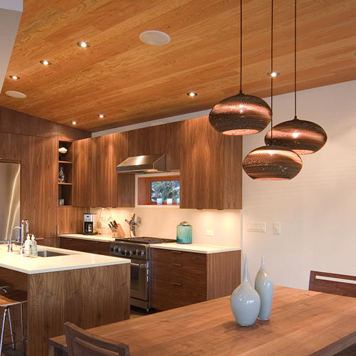 Graypants Disc Pendant Lamp Brown