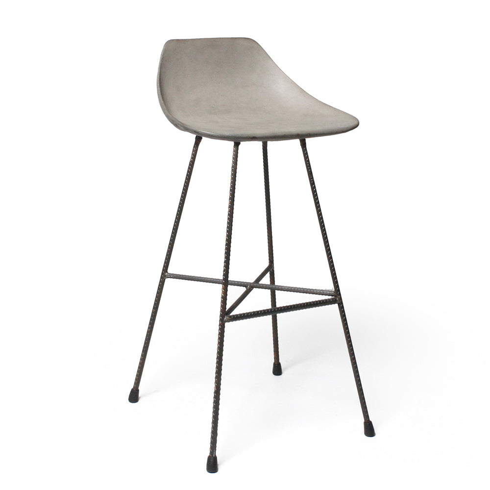 Lyon Beton Concret Hauteville Counter Chair