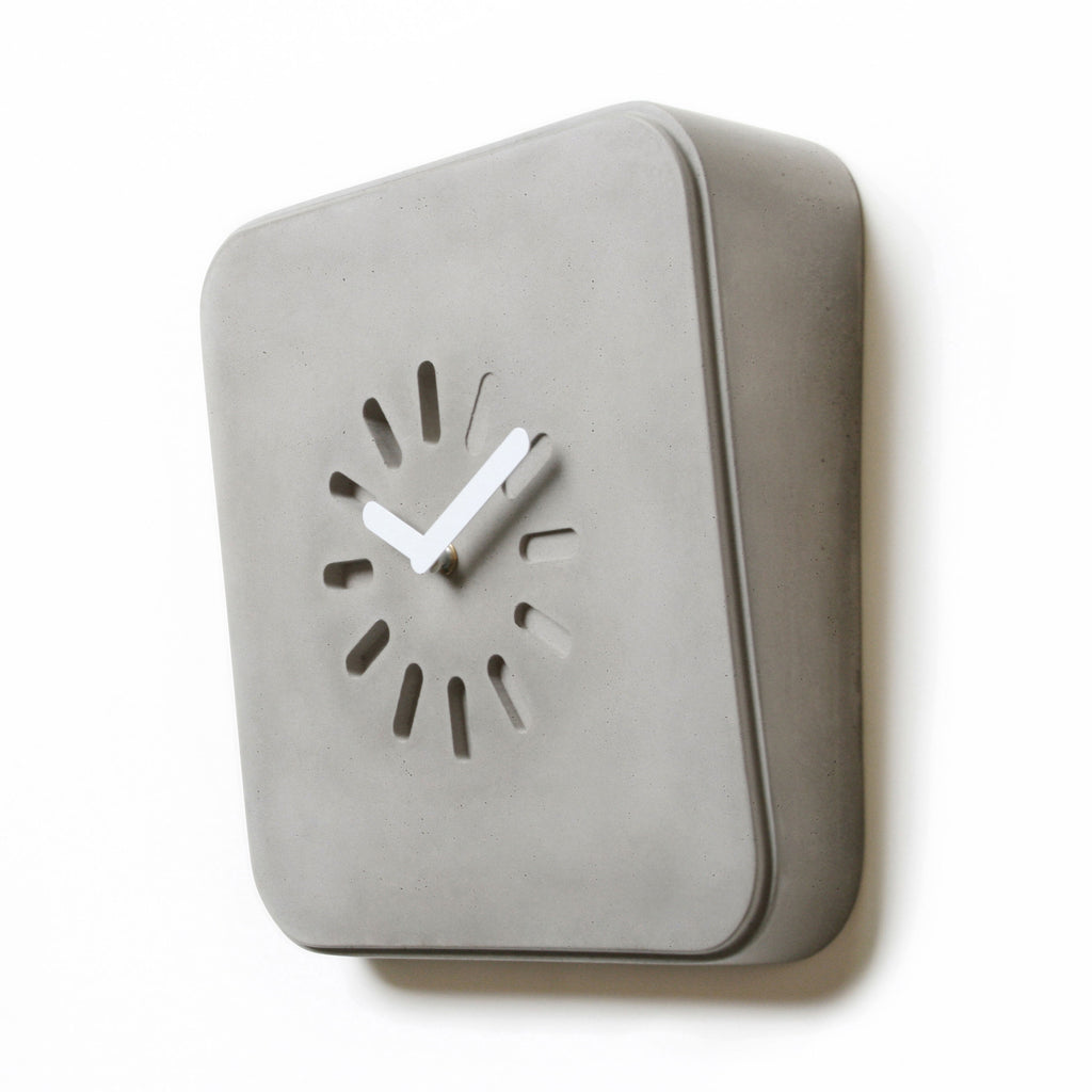 Lyon Beton Life In Progress Concrete Clock