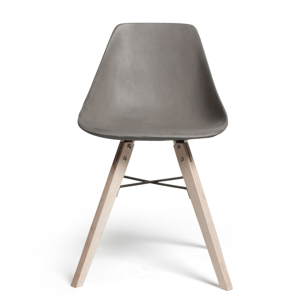 Lyon Beton Hauteville Plywood And Concrete Chair