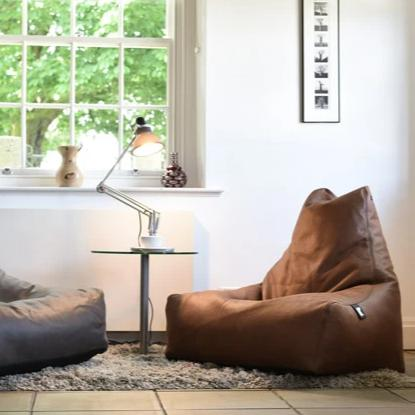Mighty-b Luxury Leather Look Bean Bag Chair